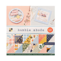 Die Cuts with a View - 12 x 12 Double Sided Paper Stack - Humble Abode - Gloss Finish