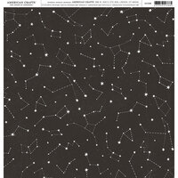 American Crafts - 12 x 12 Single Sided Paper - Celestial