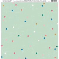 American Crafts - 12 x 12 Single Sided Paper - Dots