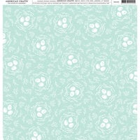 American Crafts - 12 x 12 Single Sided Paper - Springtime Eggs