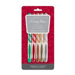 American Crafts - Gel Pen Set - Metallic - Christmas - 5 Pack