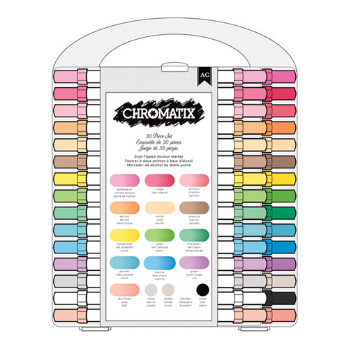 American Crafts - Chromatix Markers Value Pack - 30 Piece
