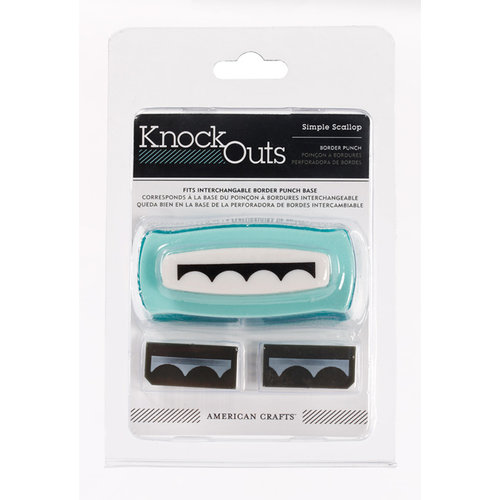 American Crafts - Knock Outs - Border Punches - Simple Scallop