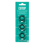 American Crafts - Cutup - Trimmer Accessories - Cartridge - Assorted Blades - 3 Pack