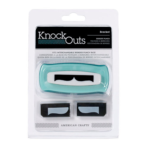 American Crafts - Knock Outs - Border Punches - Bracket