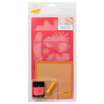 American Crafts - Amy Tangerine Collection - Yes, Please - Embroidery Stencil Kit - Icon - Capture