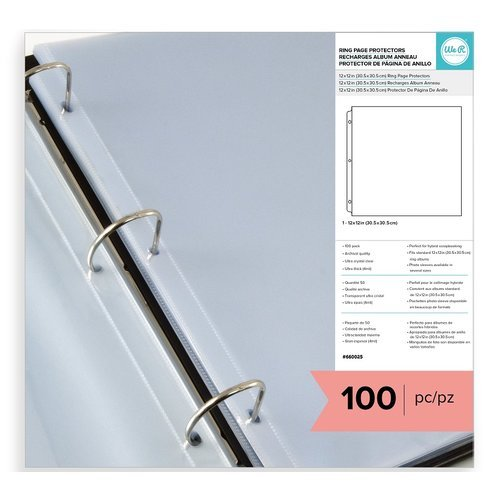 We R Memory Keepers - Page Protectors - 12 x 12 - 100 Pack