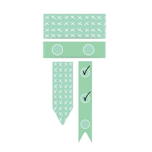 We R Memory Keepers - Washi Chomper - Washi Tape - Check Lists - Mint