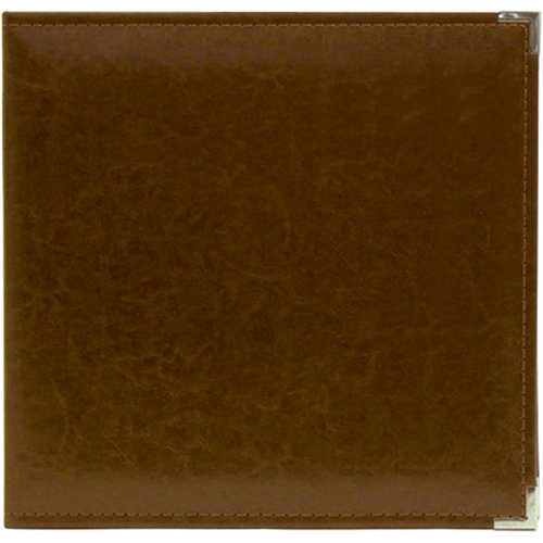 We R Memory Keepers - Classic Leather - 8.5 x 11 - 3-Ring Album - Dark Chocolate