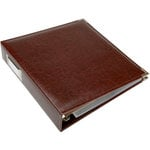 We R Memory Keepers - Classic Leather - 8.5 x 11 - 3-Ring Album - Cinnamon