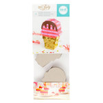 We R Memory Keepers - DIY Party Collection - Mini Pinata - Ice Cream Cone - 3 Pack