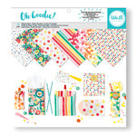 We R Memory Keepers - Oh Goodie Collection - 12 x 12 Paper Pad - Glassine Pattern