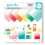 We R Memory Keepers - Oh Goodie Collection - 12 x 12 Paper Pad - Glassine Ombre