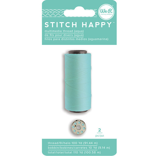 We R Memory Keepers - Stitch Happy Collection - Thread - Aqua
