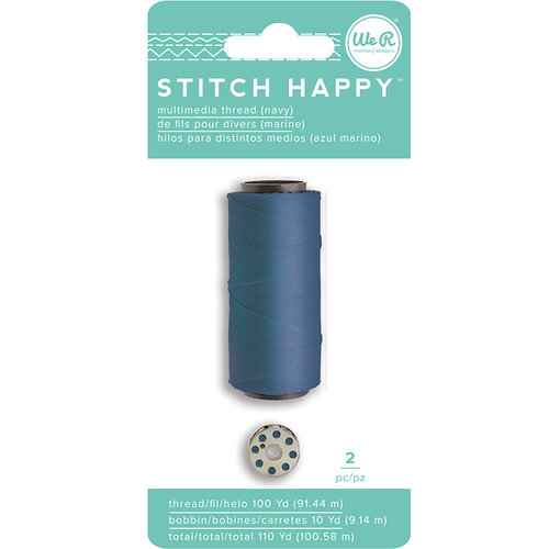 We R Memory Keepers - Stitch Happy Collection - Thread - Navy