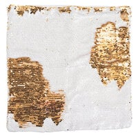 We R Memory Keepers - Heat Transfer Collection - Blank Sequin Pillow - Gold-White