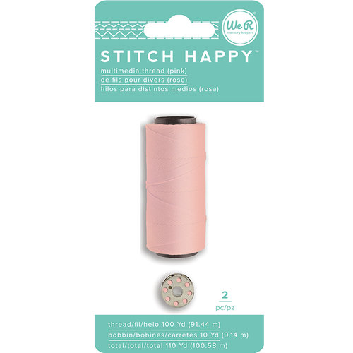 We R Memory Keepers - Stitch Happy Collection - Thread - Pink
