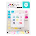 We R Memory Keepers - Stamp Kit - CMYK - Bright and Happy