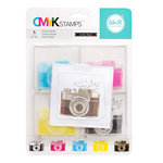 We R Memory Keepers - Stamp Kit - CMYK - Camera