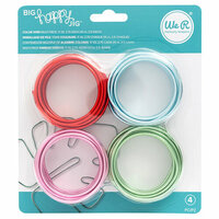 We R Memory Keepers - Big Happy Jig - Color Wire - Multi Color - 4 Pack