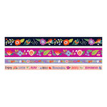 We R Memory Keepers - Washi Tape - Dark Floral