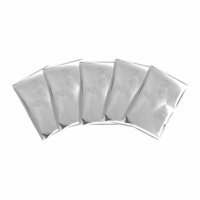 We R Memory Keepers - Foil Quill - Foil Sheets - 4 x 6 - Silver Swan