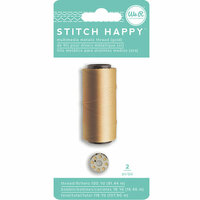 We R Memory Keepers - Stitch Happy Collection - Thread - Metallic - Gold