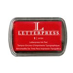 We R Memory Keepers - Letterpress - Ink Pads - Red
