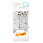 We R Memory Keepers - DIY Party Collection - Mini Pinata - Fringe Tape - Silver