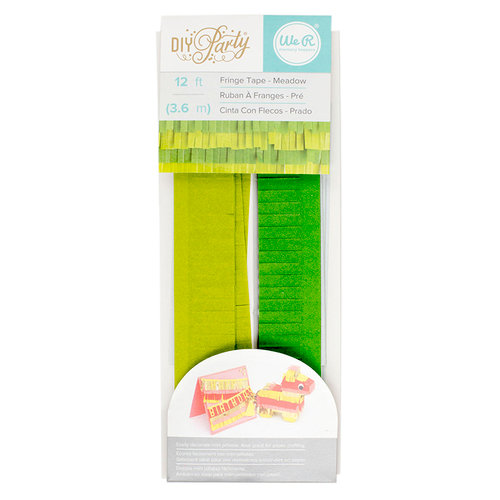 We R Memory Keepers - DIY Party Collection - Mini Pinata - Fringe Tape - Meadow