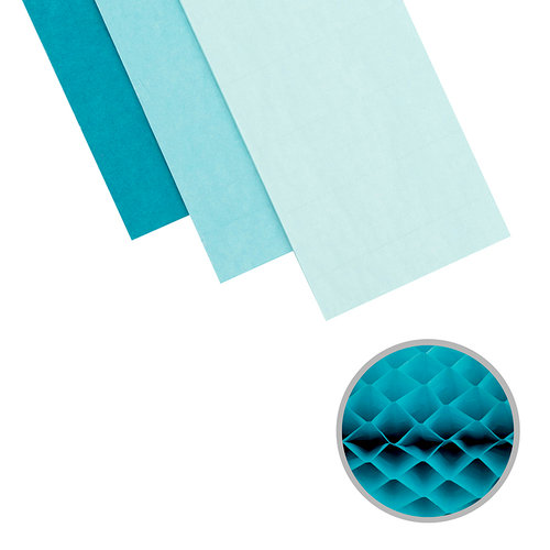 We R Memory Keepers - DIY Party Collection - Honeycomb - Small - Ocean