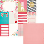 We R Memory Keepers - Crush Collection - 12 x 12 Double Sided Paper - Crush Cards
