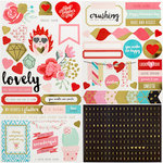 We R Memory Keepers - Crush Collection - Cardstock Stickers