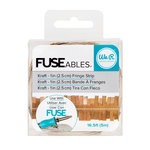 We R Memory Keepers - FUSEables Collection - Fringe Tape - Kraft