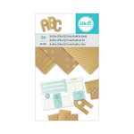 We R Memory Keepers - 3 x 5 Paper Pad - Kraft With Gold Foil