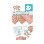 We R Memory Keepers - 3 x 5 Paper Pad - Kraft With Blush Foil