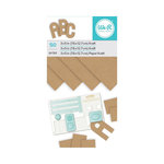 We R Memory Keepers - 3 x 5 Paper Pad - Kraft