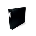We R Memory Keepers - Classic Leather - 12 x 12 - Three Ring Albums - Black