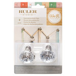 We R Memory Keepers - Ruler Studio Collection - Glass Knobs