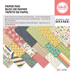 We R Memory Keepers - Honey Im Home Collection - 6 x 6 Paper Pad