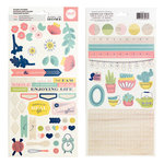 We R Memory Keepers - Honey Im Home Collection - Cardstock Stickers