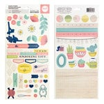 We R Memory Keepers - Honey I'm Home Collection - Cardstock Stickers