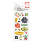 We R Memory Keepers - Honey I'm Home Collection - Puffy Stickers - Shapes