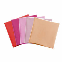 We R Memory Keepers - Foil Quill - Foil Sheets - 12 x 12 - Flamingo