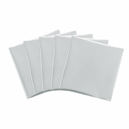 We R Memory Keepers - Foil Quill - Foil Sheets - 12 x 12 - Silver Swan
