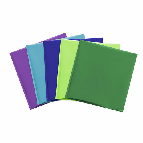 We R Memory Keepers - Foil Quill - Foil Sheets - 12 x 12 - Peacock