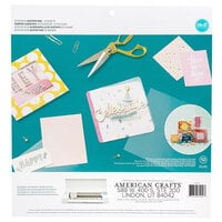 We R Memory Keepers - 12 x 12 Paper Pad - Clear Acetate
