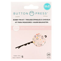 We R Memory Keepers - Button Press Collection - Button Backer - Bobby Pin Backers