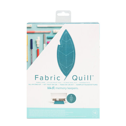 We R Memory Keepers - Fabric Quill - Starter Kit