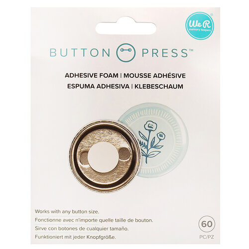 We R Memory Keepers - Button Press Collection - Button Backer - Adhesive Foam